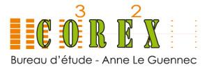 Création d'un logo horizontal pour Corex à Brest