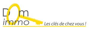 Création d'un logo pour Dom immo à Brest
