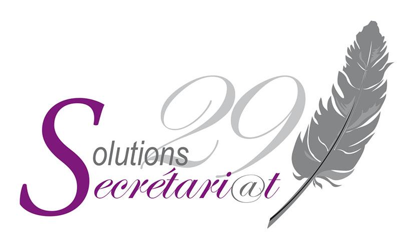 cr ation d 39 un logo pour solutions secr tari t 29 brest brest communication print web. Black Bedroom Furniture Sets. Home Design Ideas