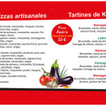 Création d'un panneau pour la pizzeria Dékalé à Brest