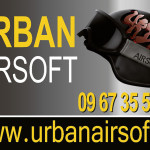 Création d'un panneau pour Urban Airsoft à Brest