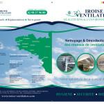 Création d'une plaquette pour Iroise Ventilation à Brest
