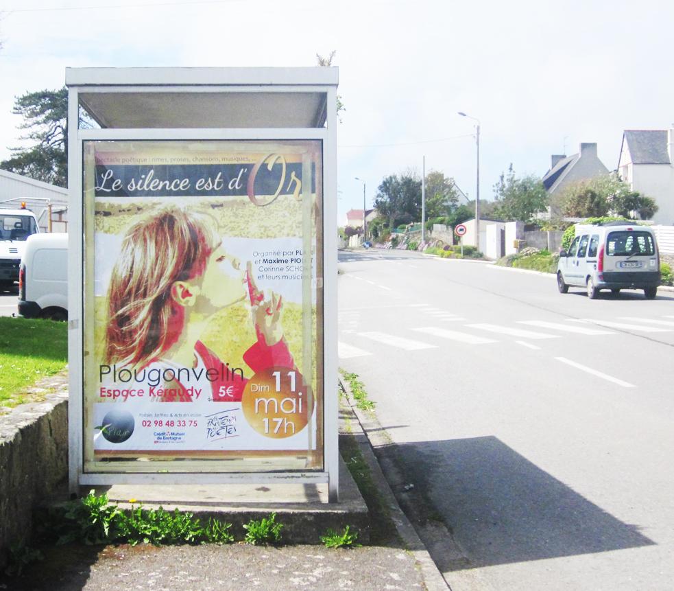 Affiche Abri Bus