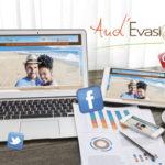 Création du site web d'Aud Evasion