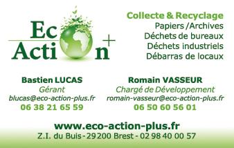 Cration Dune Carte De Visite Pour Eco Action Brest