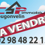 Création d'un panneau pour CSP immobilier à Plougonvelin