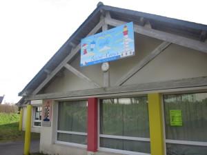 Nouveau panneau de l' école du Sacré Coeur de Plougonvelin