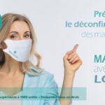 Masque covid-19 tissus Brest Finistère